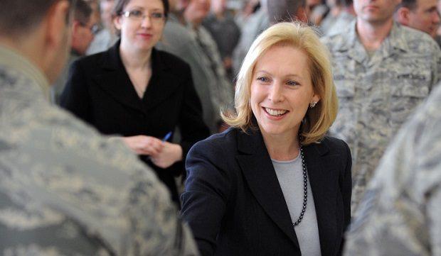 Sen. Gillibrand, Rep. Bishop and Holly Petraeus Visit FS Gabreski Air National Guard Base