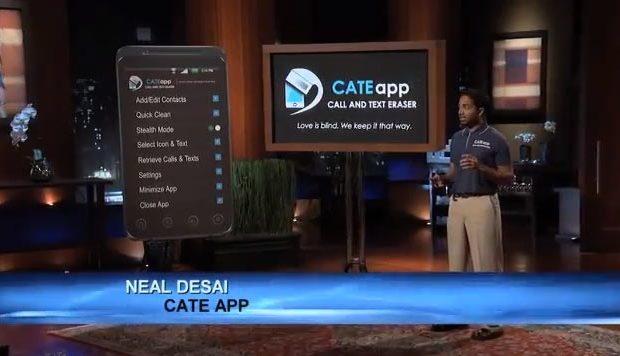 Neal Desai Cate app Shark Tank ABC