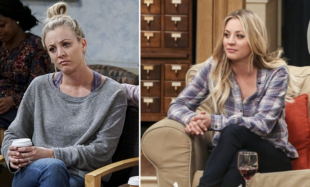 Kaley Cuocos Hair Gets Glam In 2017 On The Big Bang Theory