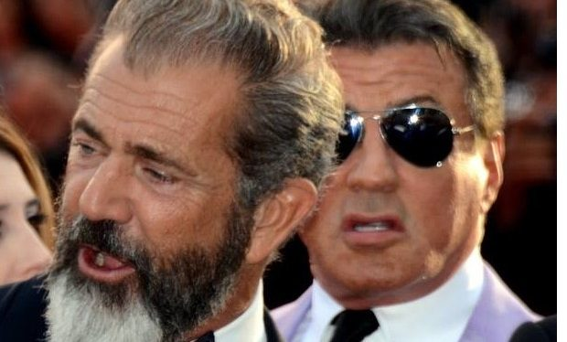 Mel Gibson and Sylvester Stallone