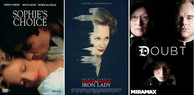 Meryl Streep movie posters