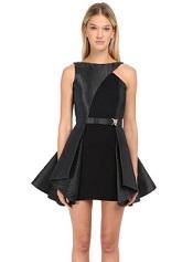 Philipp Plein Dress Company fit-and-flare mini dress