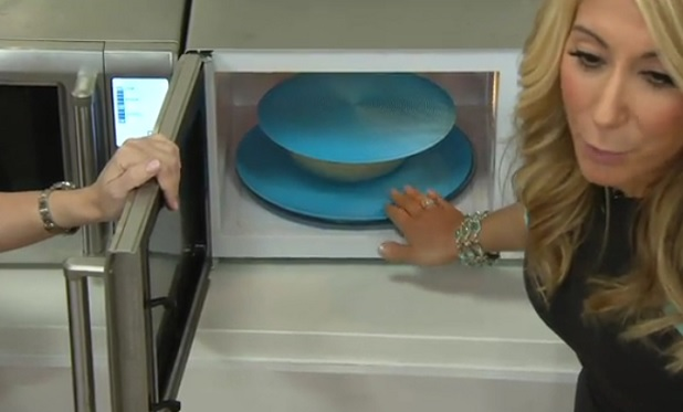 lori selling Safe Grabs on QVC