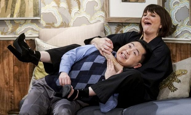 Matthew Moy, Kerri kenney 2 Broke Girls CBS