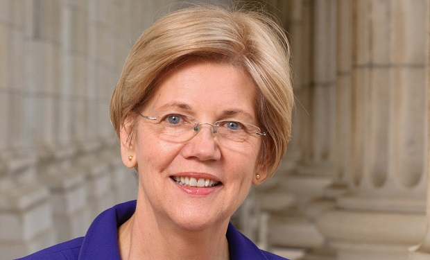 Elizabeth Warren April 2016 official portrait US Senate Public Domain