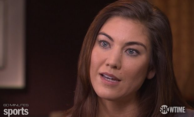 Hope Solo 60 Minutes