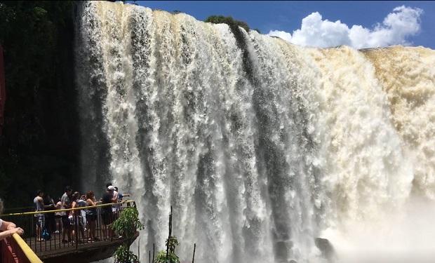 Stunning Iguazu Falls Panorama