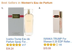 Ivanka Ttrump fragrances number 1