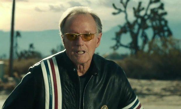Peter Fonda Mercedes ad