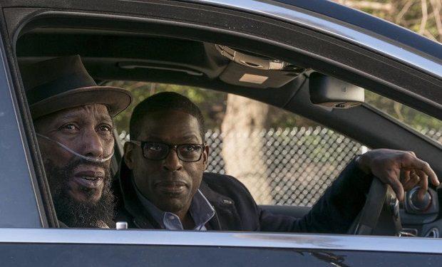 (l-r) Ron Cephas Jones as William, Sterling K. Brown as Randall -- (Photo by: Ron Batzdorff/NBC)