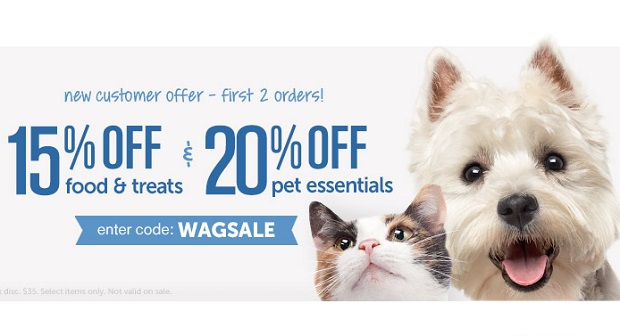 Wags dot com sale