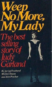 weep no more judy garland book
