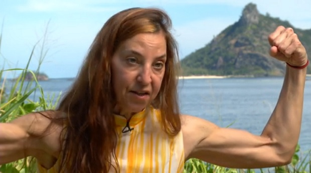 Debbie On Survivor Says I Can Arm Wrestle Most Men Into The Ground