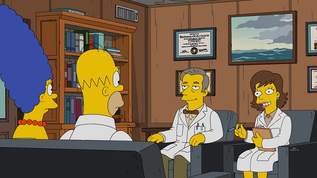 Who Are Sex Experts Masters And Johnson On The Simpsons-5083