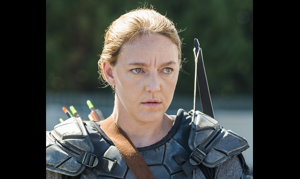 Kerry Cahill The walking Dead GEne Page AMC