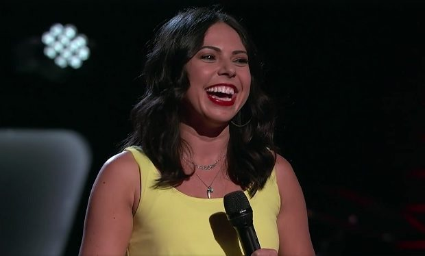 Valerie Ponzio The Voice Season 12 NBC smiling
