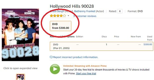 Bethenny Frankel Hollywood Hills on Amazon