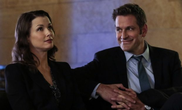 Pictured: Bridget Moynahan, Peter Hermann. PHOTO CREDIT: GIOVANNI RUFINO/CBS