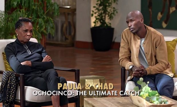 Chad Ochocinco and mom Paula Marriage Boot Camp WE