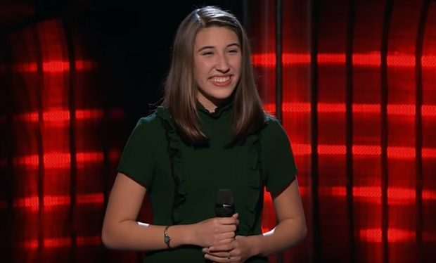 Hanna Eyre The Voice NBC video