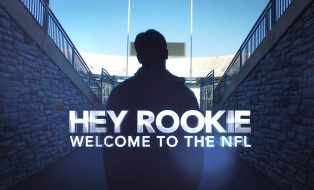 Hey Rookie Welcome to the NFL