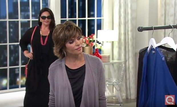 Lisa rinna on QVC