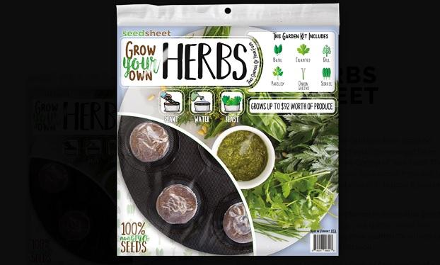 Seedsheet Where To Buy 15 Shark Tank Garden Herb Kits