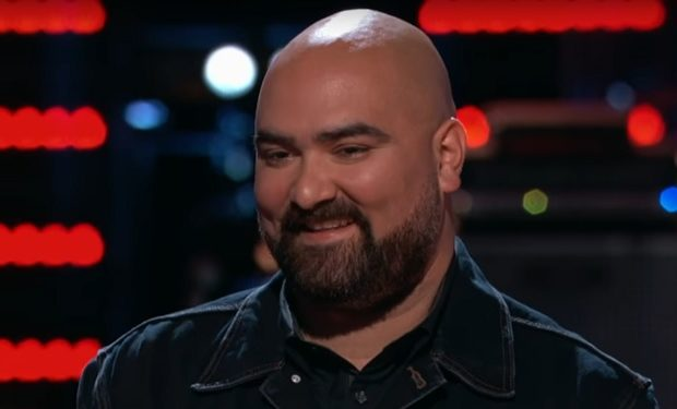 Troy on The Voice NBC