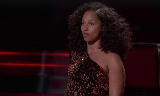 Alicia Keys on The Voice NBC