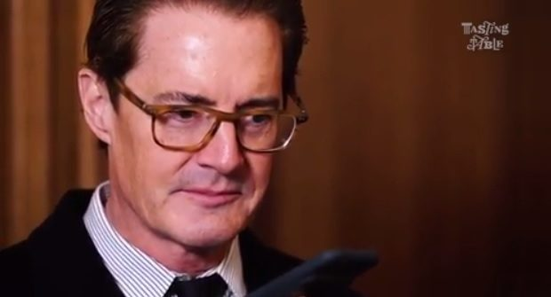 Kyle MacLachlan Tasting Table Video on Instagram