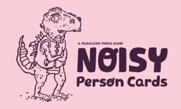 Noisy Person Game Kickstarter
