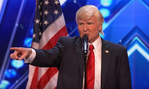 "Singing Trump on 'America's Got Talent' Zings ""Australian ..."