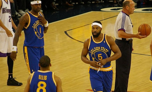 Baron Davis and the Warriors