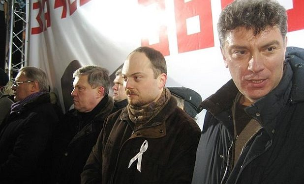 Vladimir Kara-Murza and Boris Mentsov
