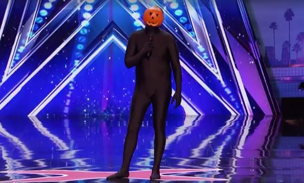 Dancing Pumpkin Man AGT NBC