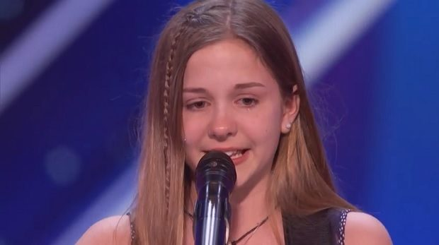Marisa McKaye on AGT NBC