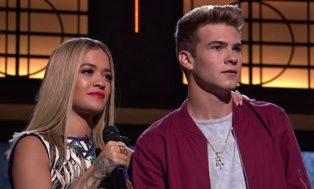 Rita Ora, Devin Hayes, Boy Band ABC