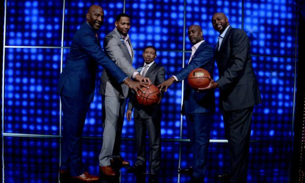 NBA legends on CFF ABC