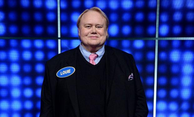 Louie Anderson Celeb Fam Feud ABC