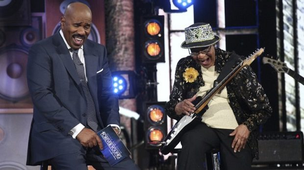 Beverly-watkins-steve-harvey Little Big Shots NBC/Vivian Zink
