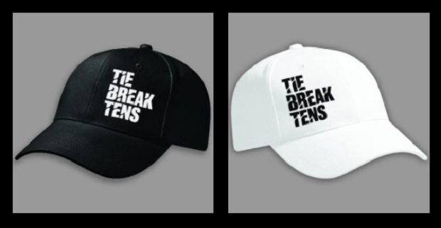 Tie Break Tens Hat