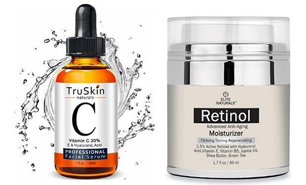 TruSkin and Elite Naturals Retinol Skin Cream -- Top Anti aging skin solutions
