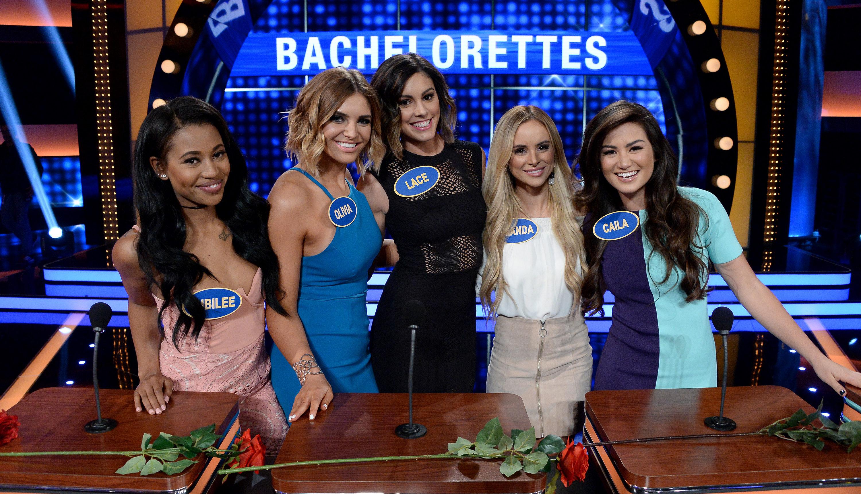 bachelorette olivia caridi on family feud posts fake