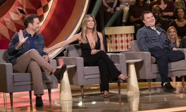 (ABC/Greg Gayne) WILL ARNETT, JENNIFER ANISTON, JACK BLACK