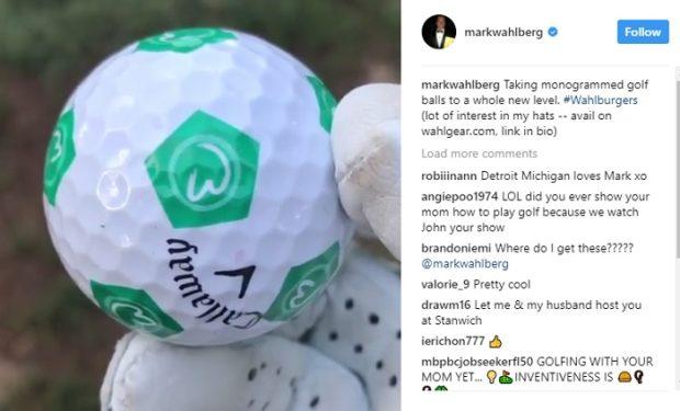 Callaway Wahlburger ball