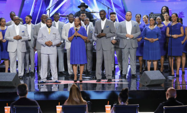 Danell and Greater Works AGT NBC