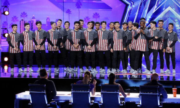 Brobots on AGT NBC