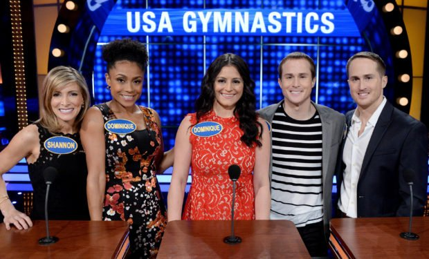 Gymnasts Celebrity Fam Feud ABC