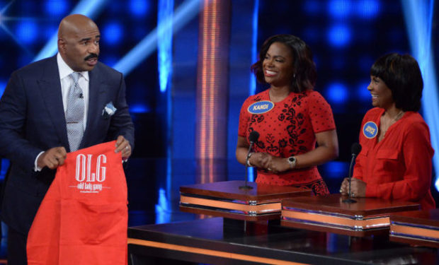 Burruss Celebrity Family Feud