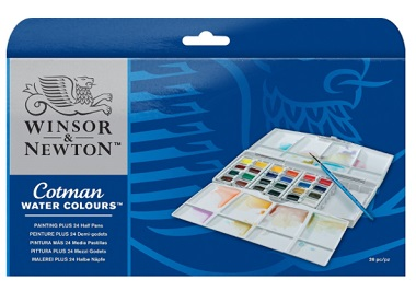 Classic Winsor & Newton Water Color Pocket Water Color Set